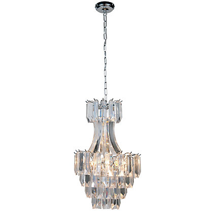 Image for Astoria Ceiling Light - Chrome from StoreName