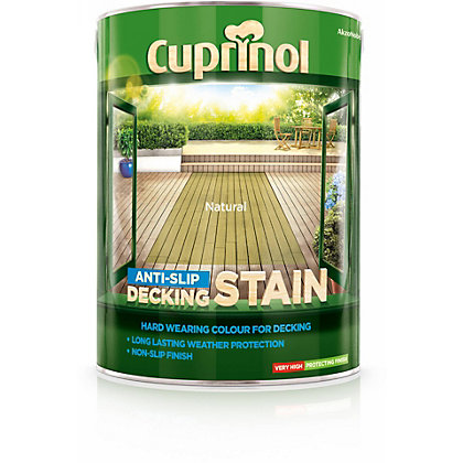 Image for Cuprinol Anti-Slip Decking Stain Natural - 5L from StoreName
