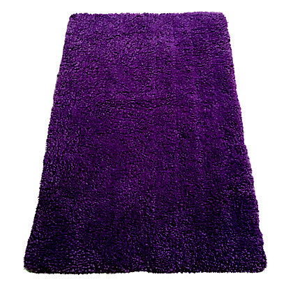 Image for Soft Shaggy Plum Rug 80x125cm from StoreName