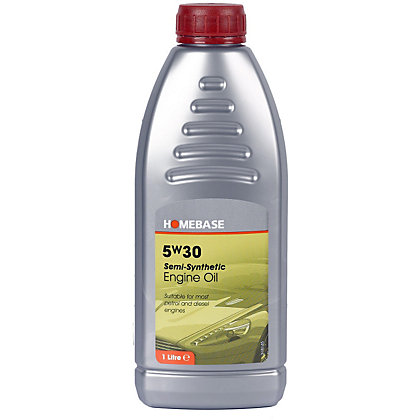 Image for Homebase 5W30 Semi Synthetic Oil - 1L from StoreName
