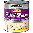 Ronseal Ivory - One Coat Cupboard Paint - 750ml