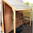 Mercia Wooden Shed Lean To Kit - 7x5ft