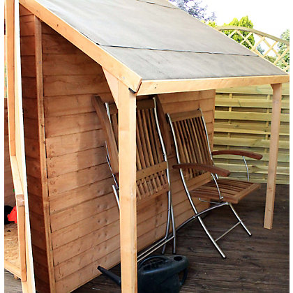 Image for Mercia Wooden Shed Lean To Kit - 8x6ft from StoreName