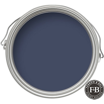 Image for Farrow & Ball No.253 Drawing Room Blue - Exterior Egg Shell Paint - 2.5L from StoreName