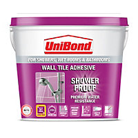 UniBond Shower Proof Wall Tile Adhesive 5L