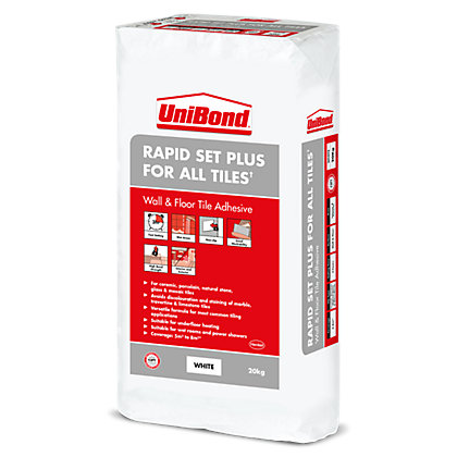 Image for UniBond Rapid Set Plus for All Tiles 20kg from StoreName