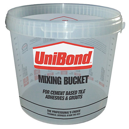 Image for UniBond Plastic Mixing Bucket 10L from StoreName