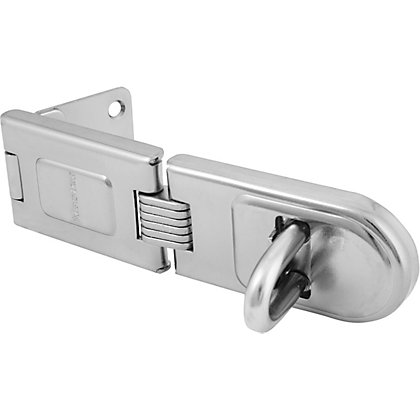 Image for Master Lock Hardened Steel Hinged Hasp - 160mm from StoreName