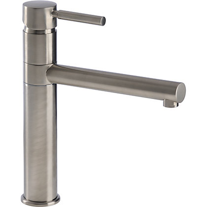 Image for Clyne Single Lever Kitchen Tap - Brushed from StoreName