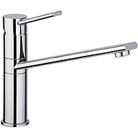 Funk Single Lever Kitchen Tap - Chrome
