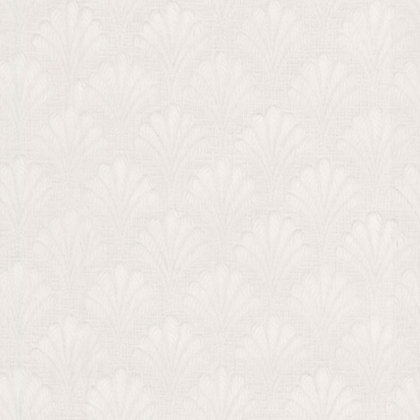 Image for Embossed Wallpaper - Straight Match - White from StoreName