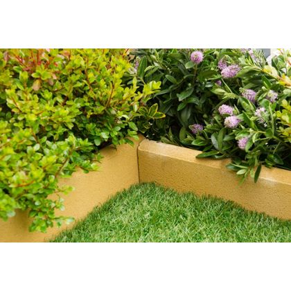 Lawn Garden Edging Borders Planters Sleepers Homebase Garden