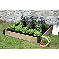 Tildenet Wooden Raised Bed Base