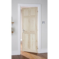 Colonial 6 Panel Clear Pine Internal Door - 762mm Wide