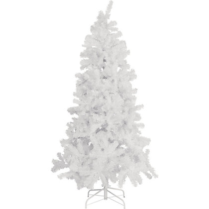 Image for 6ft White Artificial Christmas Tree from StoreName