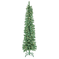 7ft Pencil Artificial Christmas Tree