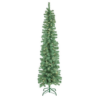 Image for 7ft Pencil Artificial Christmas Tree from StoreName