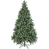 7ft Pre-Lit Blue Spruce Christmas Tree