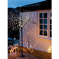 7ft Pre-Lit LED Blossom Christmas Tree