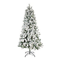 7ft Snowstorm Artificial Christmas Tree