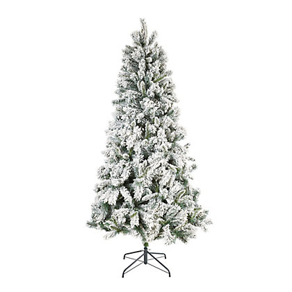 Image for 7ft Snowstorm Artificial Christmas Tree from StoreName