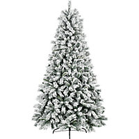 10ft Snowstorm Artificial Christmas Tree