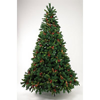 7ft Berry and Pinecone Artificial Christmas Tree