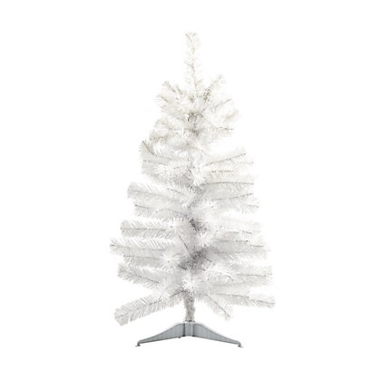 Image for 3ft White Geneva Artificial Christmas Tree from StoreName