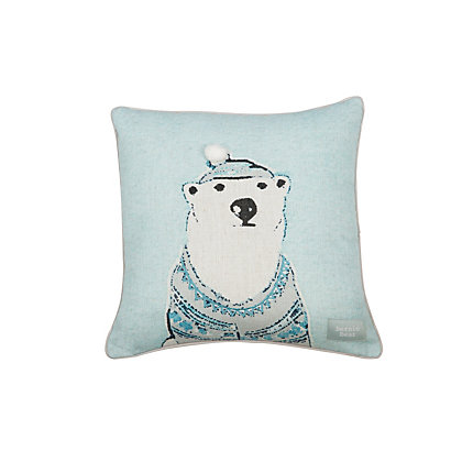 Image for Bernie Bear Cushion from StoreName