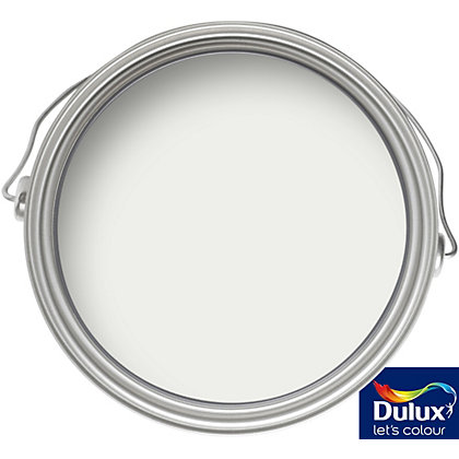 Image for Dulux Brilliant White - Solid Matt Emulsion Paint - 2.5L from StoreName