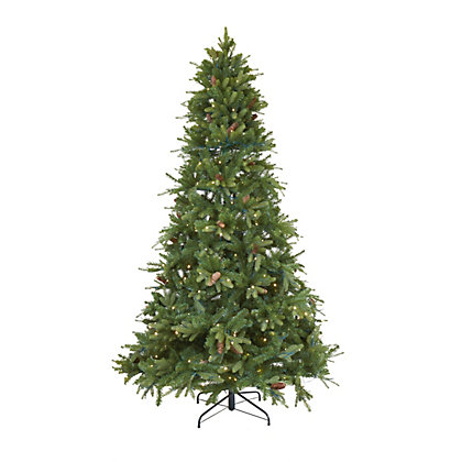 Image for 7.5ft Pre-Lit Fraser Fir Christmas Tree from StoreName