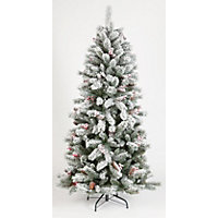 6ft Snowy Artificial Christmas Tree