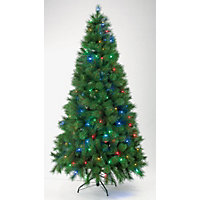7ft Pre-Lit Chameleon Artificial Christmas Tree