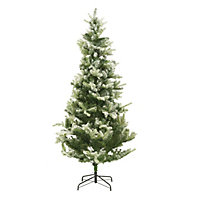 7ft Snowy Fir Artificial Christmas Tree