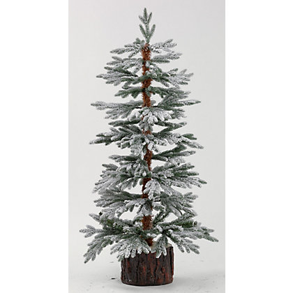 Image for 4ft Snowy Larch Artificial Christmas Tree from StoreName