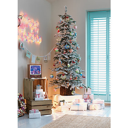 Image for 6ft Snowy Larch Artificial Christmas Tree from StoreName