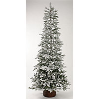 7.5ft Snowy Larch Artificial Christmas Tree