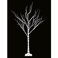 4ft Pre-Lit White Birch Christmas Tree