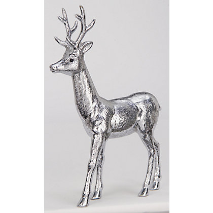 Image for Silver Metallic Stag from StoreName