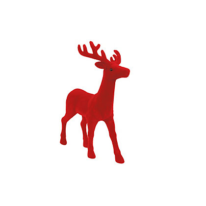 Image for Large Fuzzy Red Stag from StoreName