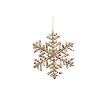 Image for Gold Snowflakes 8 pack from StoreName