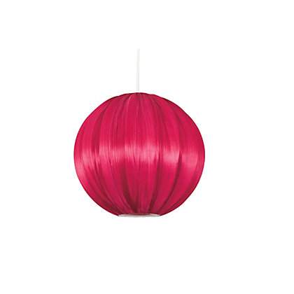 Image for Nova Faux Silk Pleated Ball - Red from StoreName