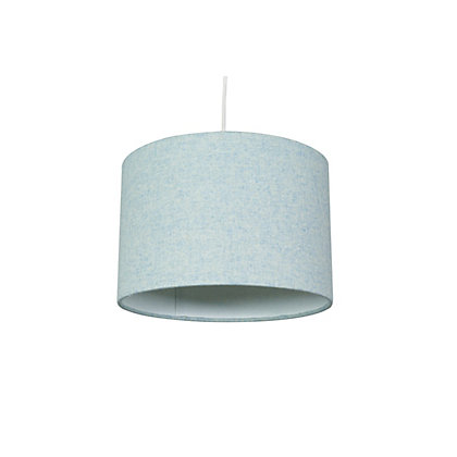Image for Faux Wool Lamp Shade - Duck Egg from StoreName
