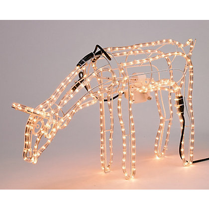 Image for Light Up Grazing Reindeer from StoreName