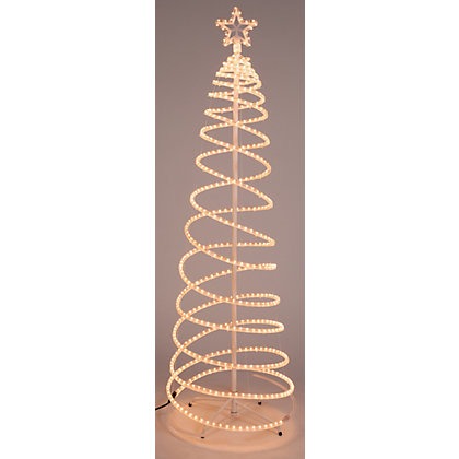 Image for Light Up Spiral Rope Tree from StoreName
