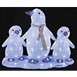 Light Up Penguin Family