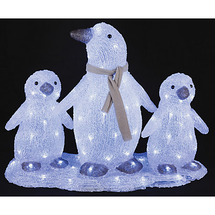 Image for Light Up Penguin Family from StoreName