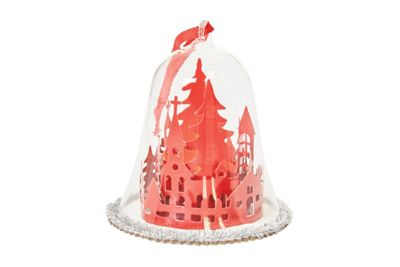 Image for Red Church Dome Bauble from StoreName