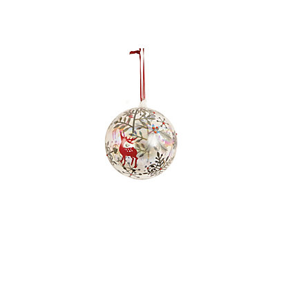 Image for Hand Painted Glass Bauble from StoreName