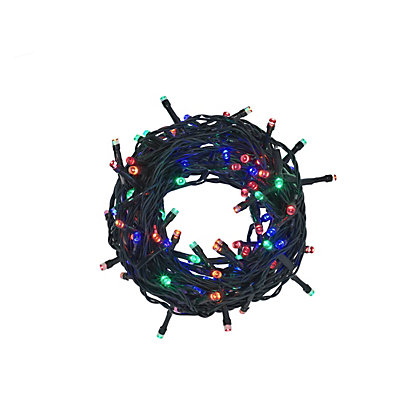 Image for 80 Multicolour LED Christmas Lights from StoreName